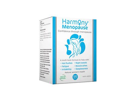 HARMONY Menopause Formula 120tabs