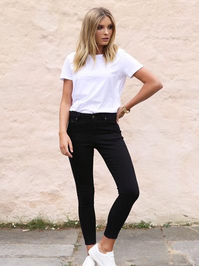 Harper Jeans | Black Denim