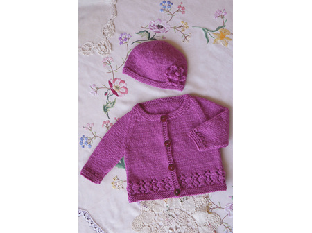 Harriet Cardi and Hat Pattern