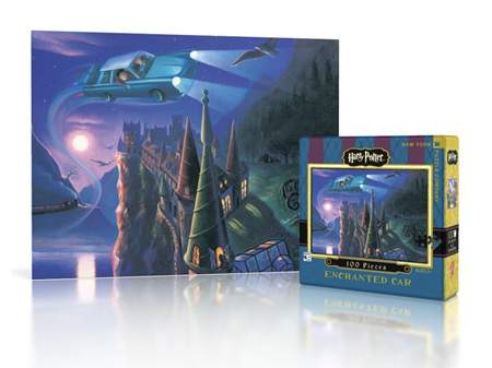 Harry Potter Enchanted Car 100 Pice Mini Puzzle by New York Puzzle Company