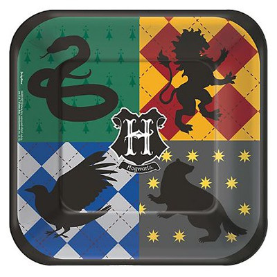 Harry Potter plates x 8
