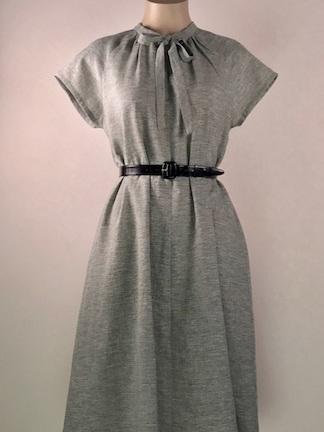 Haru dress linen