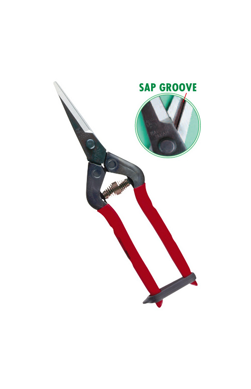 Harvesting scissors for hand picking grapes and light pruning
