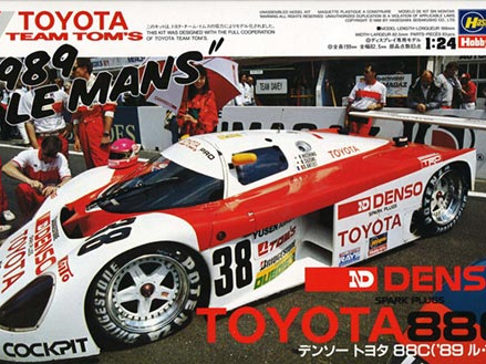 """Hasegawa 1/24 1/24 Denso Toyota 88C """"1989 Le Mans"""" Limited Edition"""