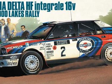 Hasegawa 1/24 Lancia Delta HF Integrale 16v 1991 1000 Lakes Rally Limited E