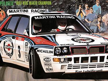 Hasegawa 1/24 Lancia 'Super Delta' 1992 WRC Makes Champion