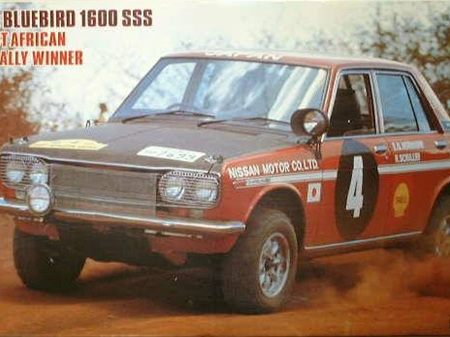 Hasegawa 1/24 Nissan Bluebird 1600 SSS 1970 East African Safari Rally Winner