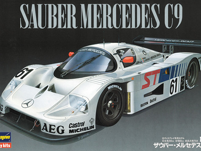 Hasegawa 1/24 Sauber Mercedes C9 Limited Edition