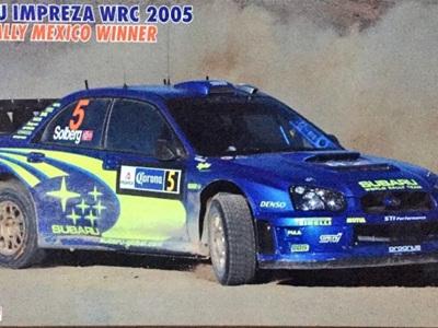 Hasegawa 1/24 Subaru Impreza 2005 Rally Mexico Winner