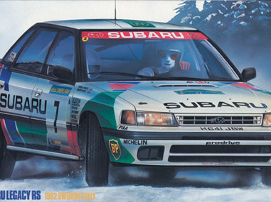 Hasegawa 1/24 Subaru Legacy RS 1992 Swedish Rally Limited Edition