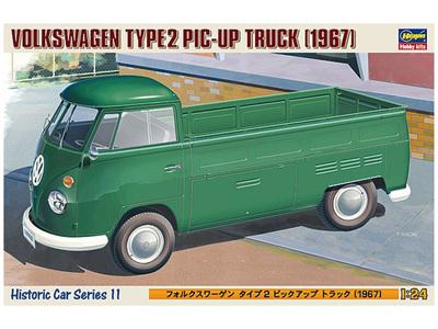 Hasegawa 1/24 Volkswagen Type 2 Pick Up Truck