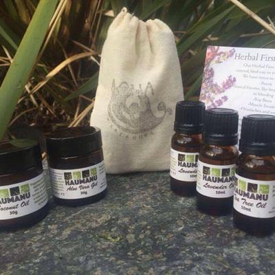 Haumanu Herbal Healing Kit