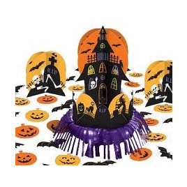 Haunted House Table Decorating Kit