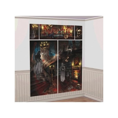 Haunted Mansion Wall Scene Setter