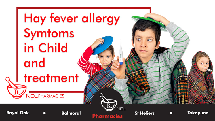 Hay Fever in Children: Symptoms and Treatment