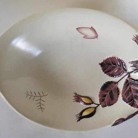 Hazelnut pattern bowl
