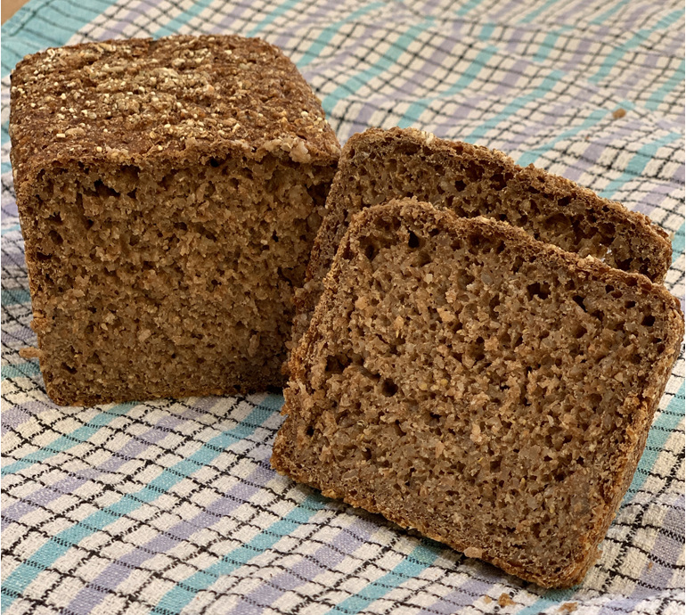 Healthy Heart Rye Sourdough