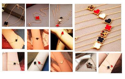 Heart & Clover Bracelets
