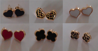 Heart & Clover Earrings