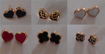 Heart & Clover Earrings