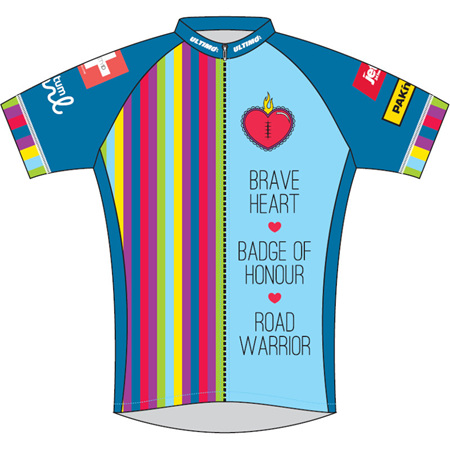 Heart Kids Cycle Jersey 2017