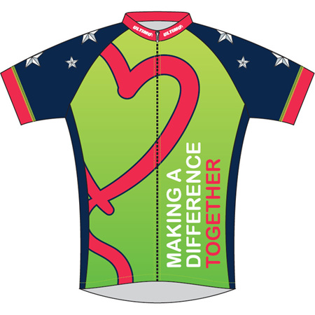 Heart Kids Cycle Jersey 2018
