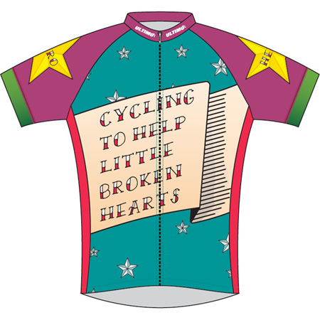 Heart Kids Cycle Jersey 2019