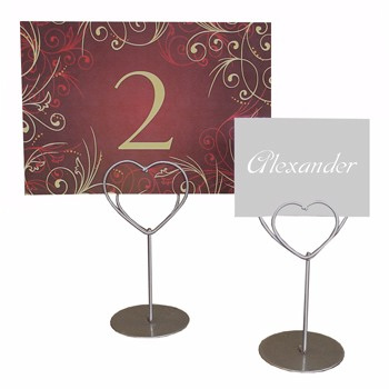 Heart Placecard Holder