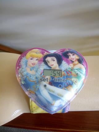 Heart Princess Snap Watch