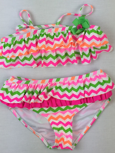 Heartstrings bikini with ruffles