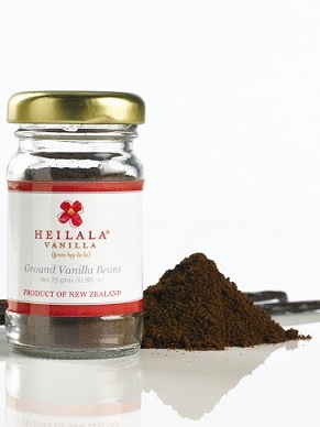 Heilala Pure Vanilla Bean Powder 25g