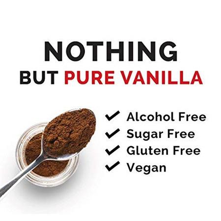 Heilala Pure Vanilla Bean Powder Bulk Bin - 4g approx.