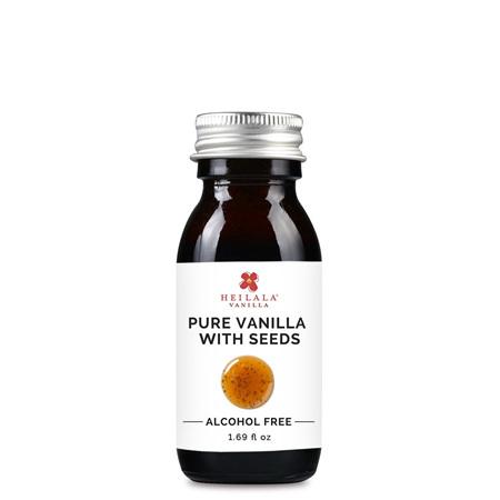 Heilala Vanilla Pure Vanilla with Seeds (Alcohol Free) 50ml