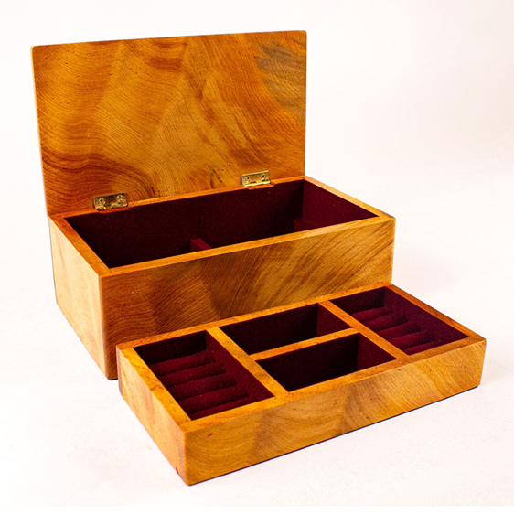 Heirloom Jewellery Box 52 - Large with Tray