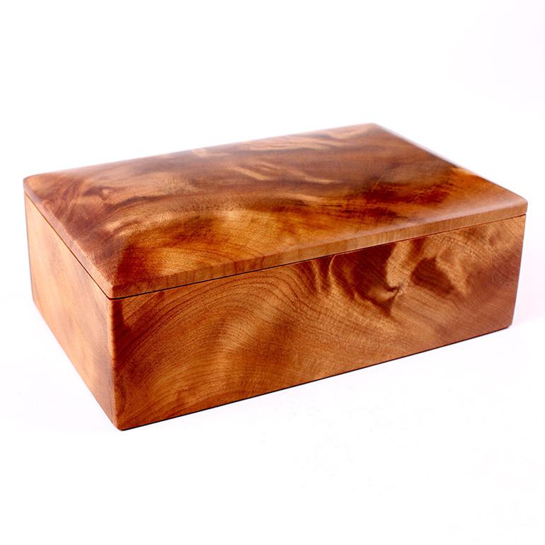 heirloom jewellery box - large with tray - ancient kauri
