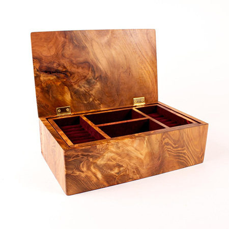 Heirloom Jewellery Box - Medium with Tray 70