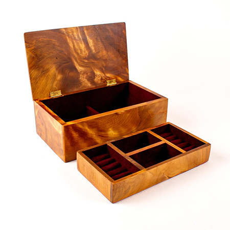 Heirloom Jewellery Box - Medium with Tray 74
