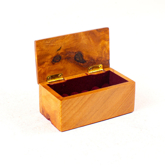 heirloom jewellery box - ring box - ancient kauri