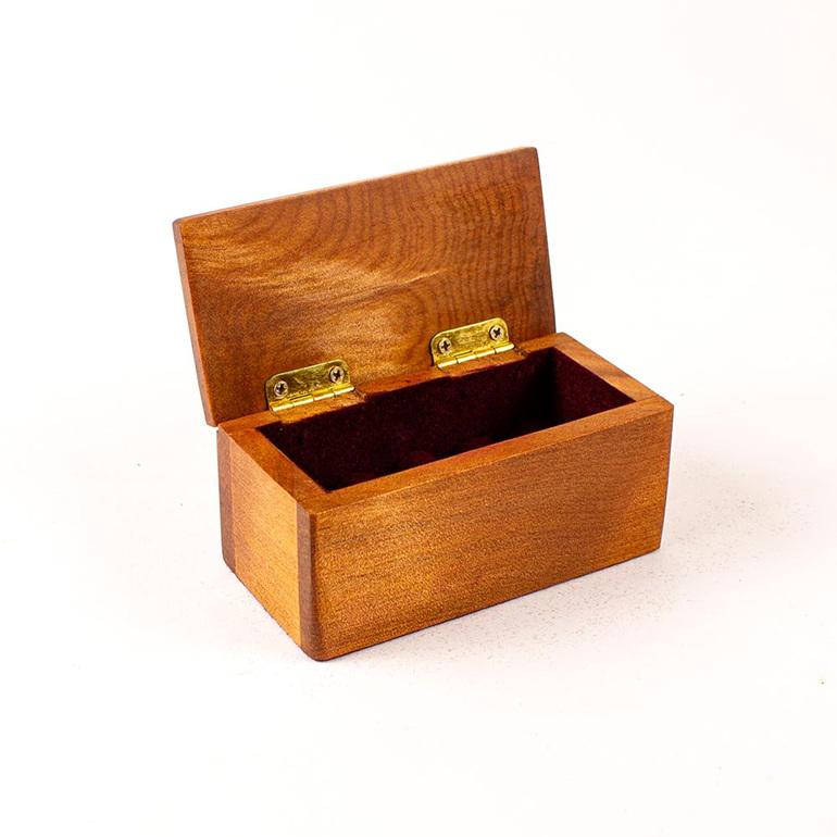 heirloom jewellery box - small - ancient kauri