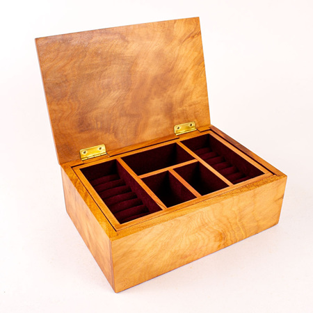 Heirloom Jewellery Box with Tray 79
