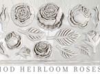 Heirloom Roses IOD Decor Mould