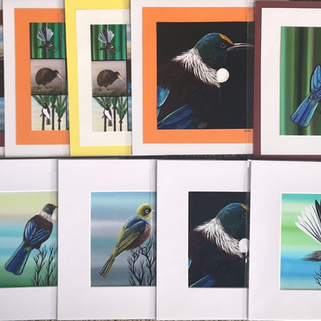 "Helen Bland Prints with Mat Board for 6 x 6"" Frame"