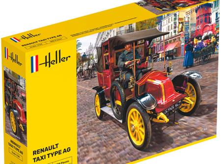 Heller 1/24 Renault Taxi Type AG (HEL30705)