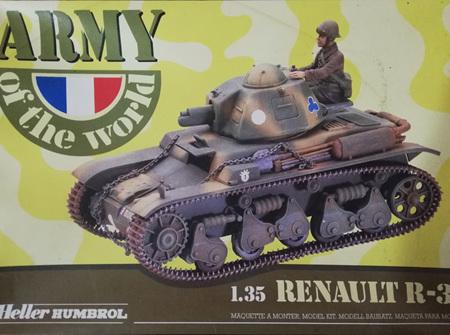 Heller 1/35 Renault R-35 (HEL81133)