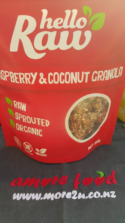 Hello Raw Granola (Raspberry & Coconut) - 350g