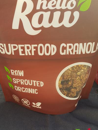 Hello Raw Granola Superfood 350g