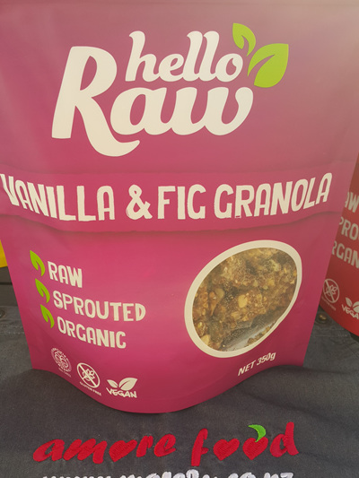 Hello Raw Granola Vanilla & Fig 350g