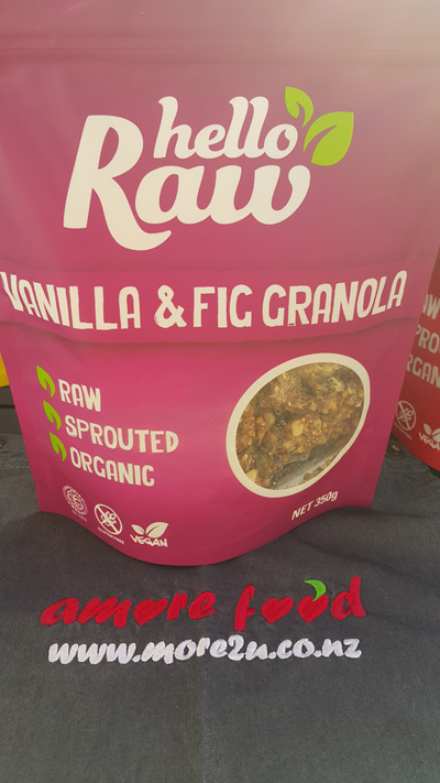 Hello Raw Granola (Vanilla & Fig) - 350g