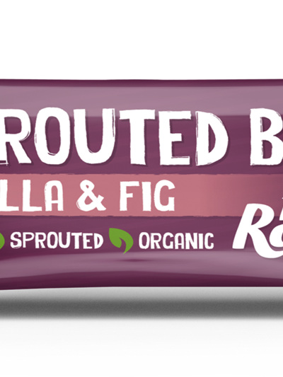 Hello Raw Sprouted Bar Vanilla & Fig  45g
