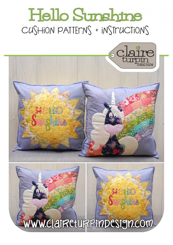 Hello Sunshine Cushion Pattern
